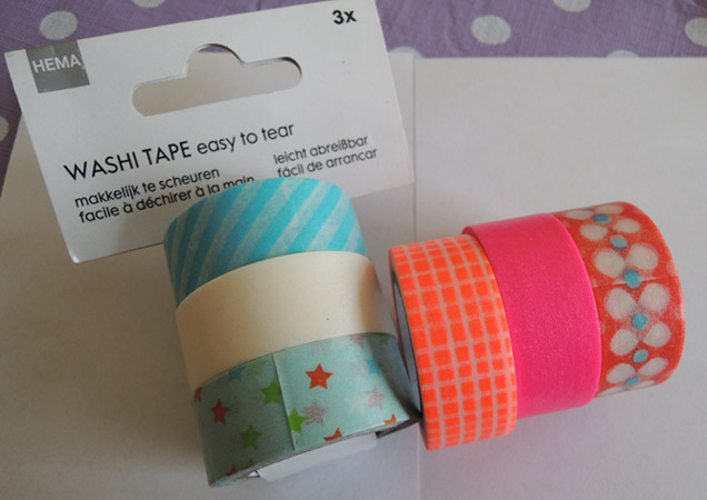 washi tape masking tape