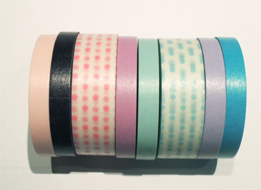 washi tape, masking tape