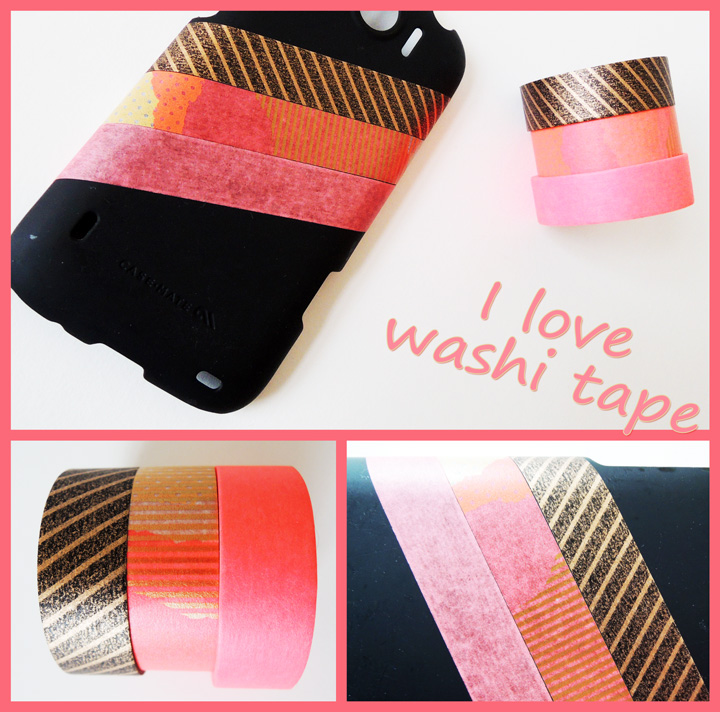 I love washi tape