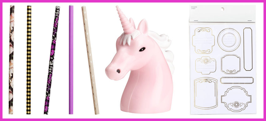 taille crayon licorne