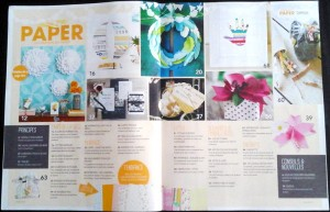 n°2 magazine Made in Paper sommaire