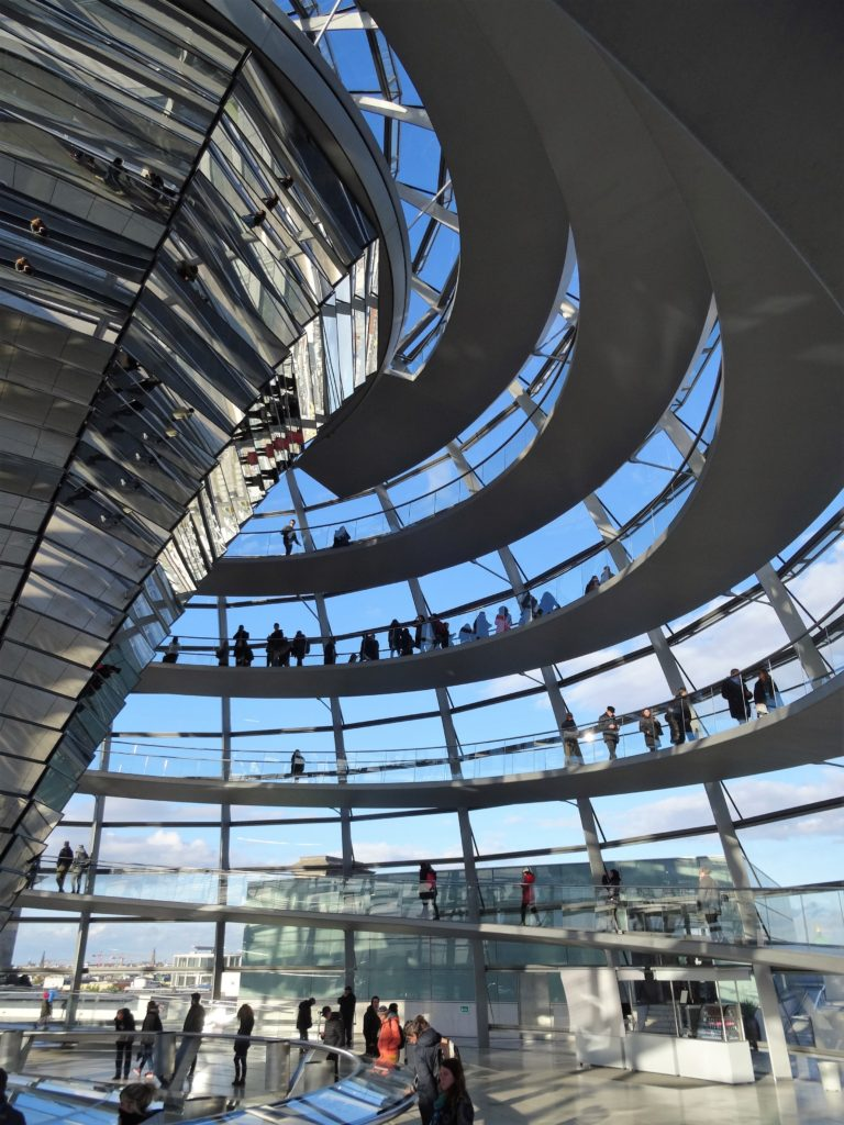 City Trip à Berlin - la coupole du Reichstag